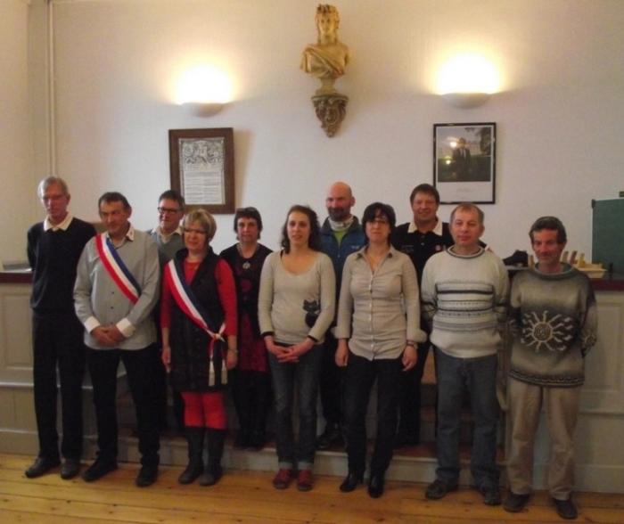 conseil municipal des Bouchoux